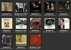 マーラー交響曲全集13種類